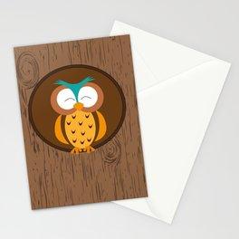 Owl - Good night Stationery Cards