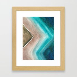 Ocean's Edge  Framed Art Print