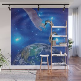 Art  of Creation Wall Mural