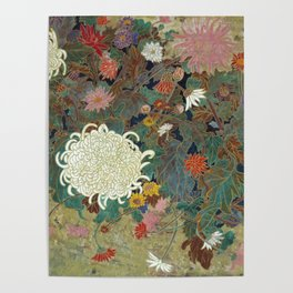 flower【Japanese painting】 Poster