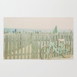 Beach Cruiser Bicycle Rug
