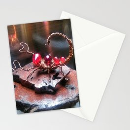 Wire Scorpion Stationery Cards