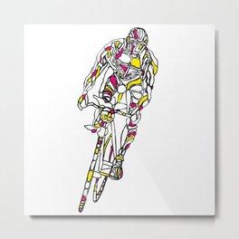 Bi-Simbiosis Metal Print