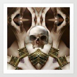 Skull Magic Art Print