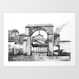 Portillo de Fuencarral Art Print