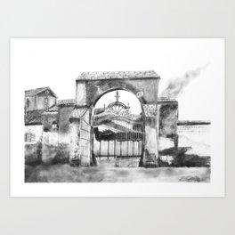 Portillo de Fuencarral Art Print