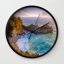 Magical Cove, Big Sur II Wall Clock