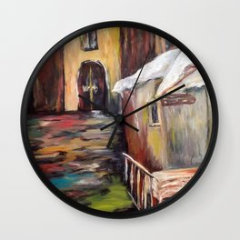 Evening in Rome Wall Clock