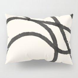 Thick Continuous Line Series 4 | Boho Home Decor, Modern Wall Art, Continuous Line, Minimalist Art Pillow Sham