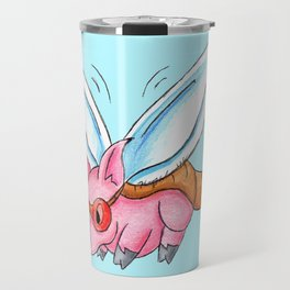 Meganeura Piggy Travel Mug