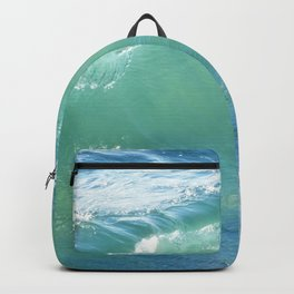 Teal Surf Backpack