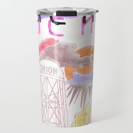 """If the Suns Collapse"" / Frontier Ruckus Song Illustrations, Series 1 (13/15) Travel Mug"