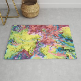 Lost in Thought; Fluid Abstract 56 Rug
