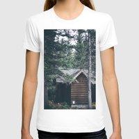 cabin pressure T-shirts featuring Cabin by Garrett Lockhart