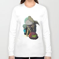 samus Long Sleeve T-shirts featuring Samus by Rod Perich