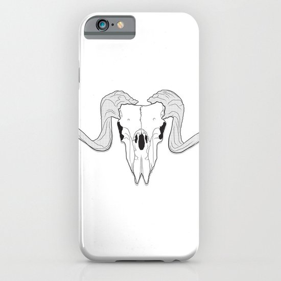Ram Skull iPhone & iPod Case