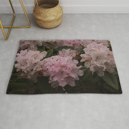 Pink Rhododendrons in Spring Rug