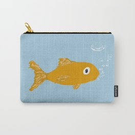 Sad Fishy Carry-All Pouch