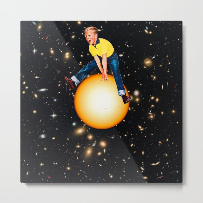 Star Hopper 2 Metal Print