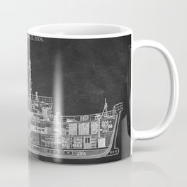 The Belafonte Chalkboard Patent Print Coffee Mug