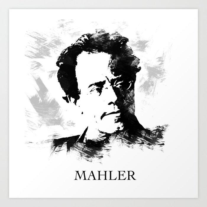Gustav Mahler Kunstdrucke