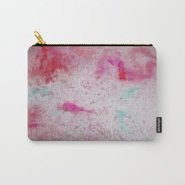 Canvas Chaos Pastel Explosion Abstract #Decorative #Home Carry-All Pouch