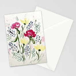 The Keira Flowers  Stationery Cards