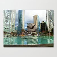vancouver Canvas Prints featuring Vancouver by Chris Root