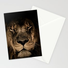 Lion Face Closeup Stationery Cards