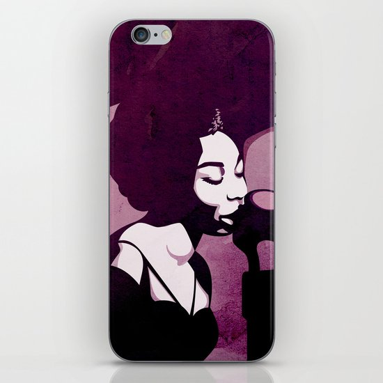 Nina Simone iPhone & iPod Skin
