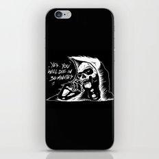 die in 30 minutes iPhone & iPod Skin