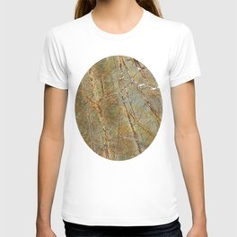 Forest Green Marble T-shirt