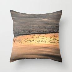 Sunset Sand Throw Pillow