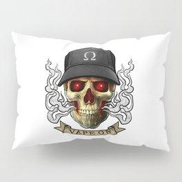 Vaping Skull - Vape On - Cloud Chaser - Vaper Pillow Sham