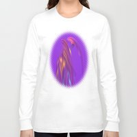 angel Long Sleeve T-shirts featuring Angel by tuditees