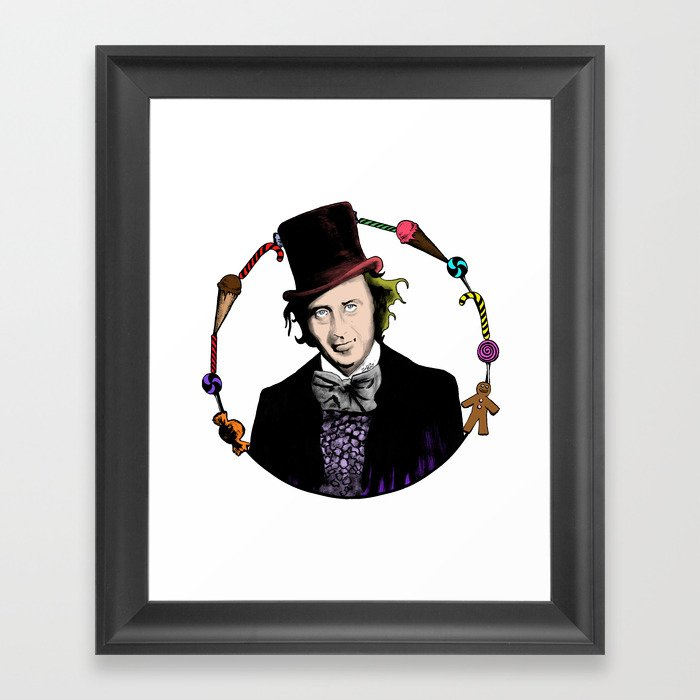 Merry Christmas From The Chocolate Factory Framed Art Print
