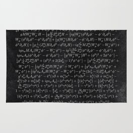 the Closest Thing We Have to a Master Equation of the Universe Rug