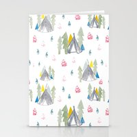 camping Stationery Cards featuring Camping by JocoLab