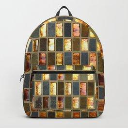 Black Gold Copper Tile Backpack