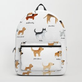 Lots of Cute Doggos - With Names Backpack