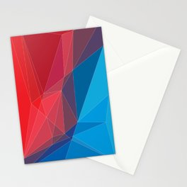 Old triangles Stationery Cards