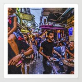 Travel Diary - Istanbul 03 Art Print