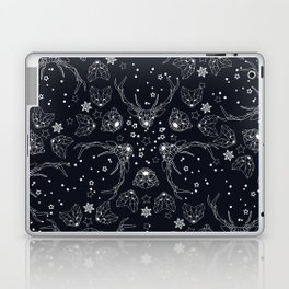 Arctic geometric dark Laptop & iPad Skin