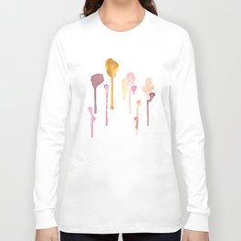 Diversity Watercolor Painting Long Sleeve T-shirt