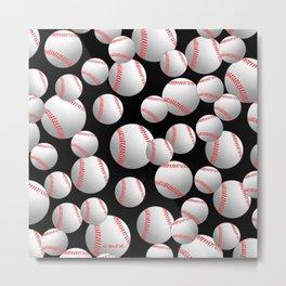 Baseball Metal Print
