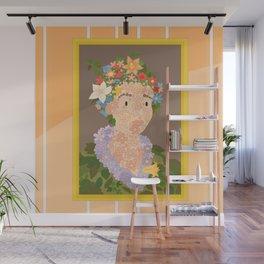 Flora by  Giuseppe Arcimboldo Wall Mural