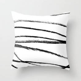 My mind is a mess. Throw Pillow