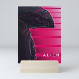 Neon ALIEN Mini Art Print