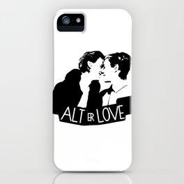 alt er love iPhone Case