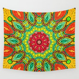 Orange Slices Wall Tapestry